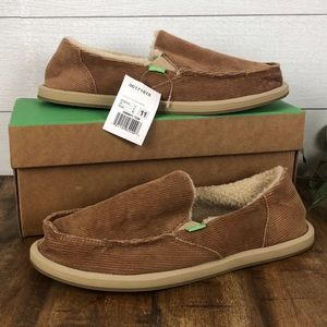 Sanuk Donna Chill Womans 11 Slip On shoes new
